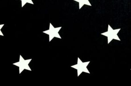 כוכבים לבנים רקע שחור